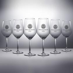 6 Copas de vino Kirios de Adrada